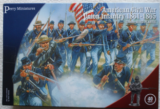 Perry Miniatures 28mm ACW-115 ACW Union Infantry 1861-65